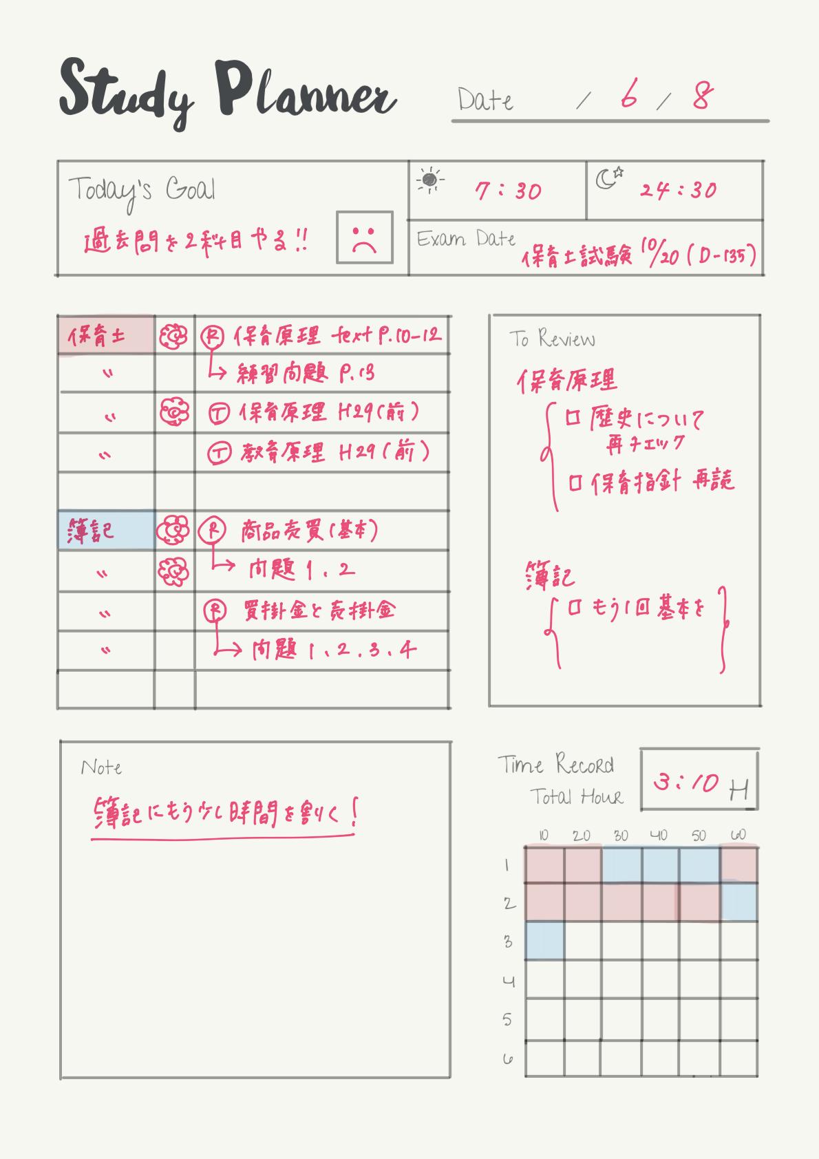 studyplanner-example